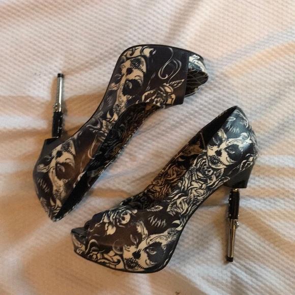 Too Fast Shoes - Too Fast Peep Toe Heels